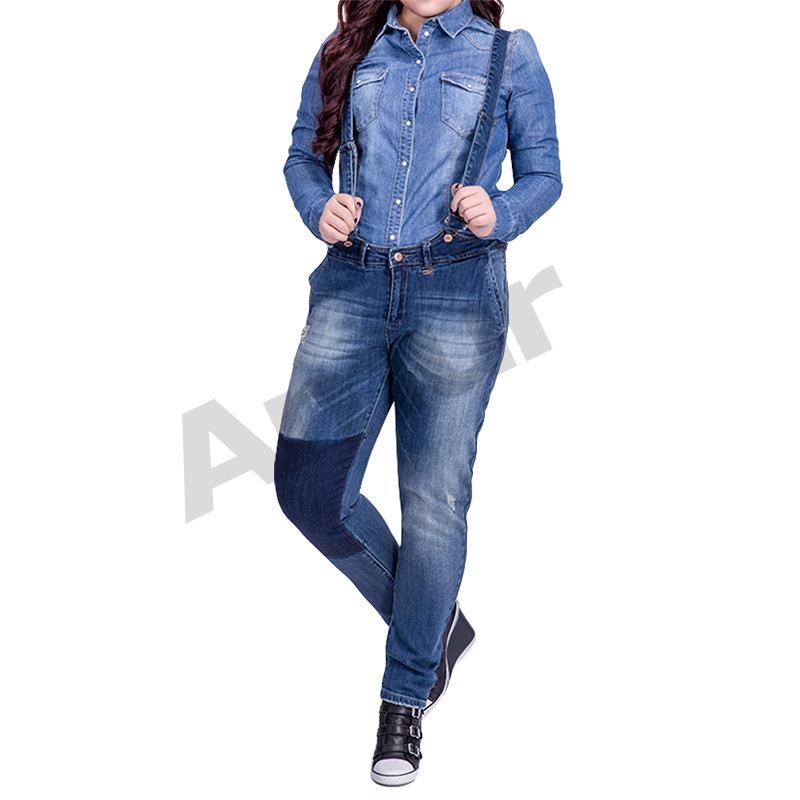 Womens Bib Overall Shorts