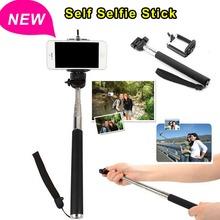 Self Photo Hand Holder Monopod Handheld Aluminum Extendable Extending Telescoping holder for phone digital camera accessories