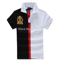 2014 New Fashion brand Short Sleeve Men Polo Ralph Men Cotton Casual Breathable Fitness Men Polo Shirts #1023