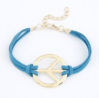 Fashion cheap price jewelry charm bracelet infinite leather for women wholesale (can mix different goods)