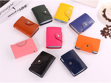 2014 new1pcs Free Shipping Men s Leather Credit Card Holder Case card holder wallet Business Card