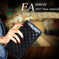 genuine Cow leather bag classic 6 colors Diamond plaid Fashion Handbag macaron coin purse ! Promotion Free Shipping