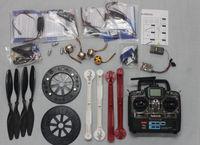 F05298-E RC Drone Quadcopter ARF HJ600 Foldable Frame Kit + QQ Super Control Board + HOBBYWING ESC + Carbon Pros + 7CH TX RX