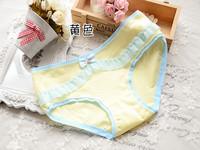 Underwear wholesale manufacturers selling women's briefs lovely cotton lace underwear