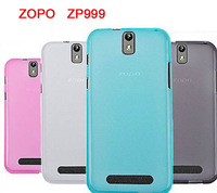 Free shipping Soft case ZOPO ZP999 phone cover case crstyle colorful case 4 colors all in stock