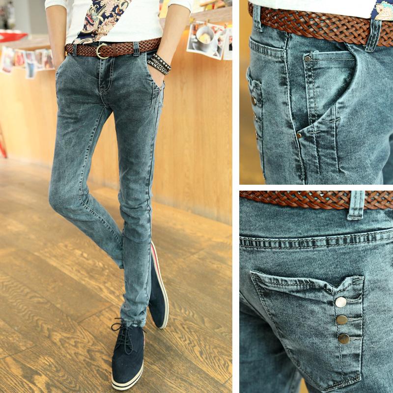 Pants With Lots of Pockets Repair Pocket Skinny Pants