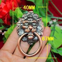 67 * 40MM high-grade brushed antique wardrobe cupboard handle lion head door handle home improvement metal handle