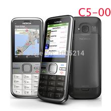 C5 00 Original Phone Unlocked Nokia C5 cell phones GSM 3G 5 0mp Camera FM GPS