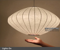New arrival George nelson bubble saucer Small lantern flat pendant light free shipping Home Lighting Factory Price