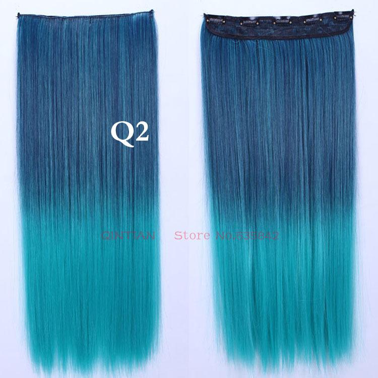 Dark Blue Hair Extensions 53