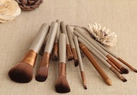 New Synthetic Hair 12 pcs NK3 Brand New Hair styling professional foundation eyeshadow Palette makeup brushes set 100 set