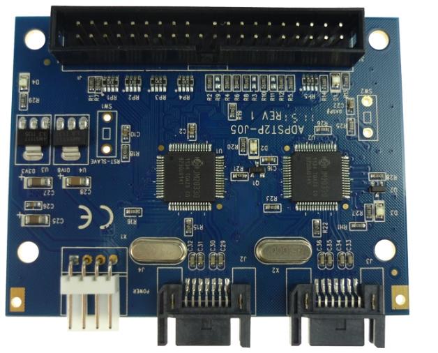 100pcs lot SATA to IDE converter board Support ATA / ATAPI master / slave settings+free shipping(China (Mainland))