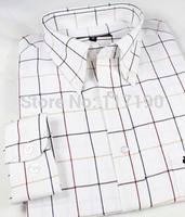 2014 new men long sleeve cotton shirts men camisa business casual fashion shirts polo men brand shirts big size free shipping
