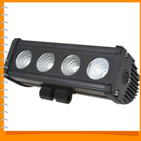 40W 4 x 10W Offroad Cree LED Work Light Bar Waterproof Off road Car LED Work Lamp Flood / Spot Light for Boating Hunting Fishing