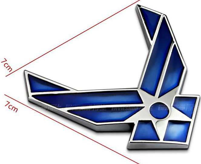 Air Force Blues Blue us Air Force Symbol Metal