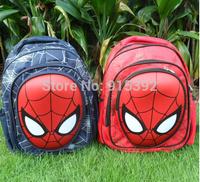 New Design Spiderman 3D Children Boy's Backpack,Fashion Cartoon Spider-man School Bag