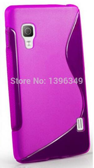 for LG l5ii L5 II cover,S line wave TPU rubber silicon gel soft non-slip case cover skin Case For LG Optimus L5 II E450 E460(China (Mainland))