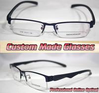 low-key blue frame Geometry leggs Optical Custom made optical lenses Reading glasses +1 +1.5 +2+2.5 +3 +3.5 +4 +4.5 +5 +5.5+6
