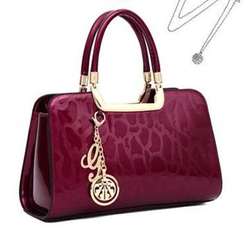 Бесплатная доставка 2014 женщин известный люксовый бренд клатч мода сумки дизайнер подлинной лакированной кожи сумки bolsas femininas / женские аксессуары
