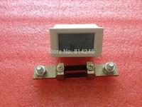 Digital DC voltmeter  ammeter digital LCD voltage ammeter head, 199.99V, 200A + 75mv 200A shunt