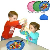 Storage Bag Toys Organizer Rug Box For Lego Dolls Portable Kids Play Mat 50cm