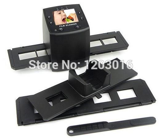 """135 film scanner 35mm filmscan 5MP Digital Film Negative Photo Scanner / Converter 35mm USB LCD Slide 2.4"""" TFT(China (Mainland))"""