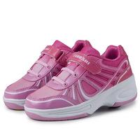 2014 New Heelys Shoes Wheel Heelys Rubber Abrasion Kids Sneakers Children Roller Shoes