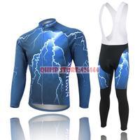 motocross suit rushed 2015 for winter cycling clothing men thermal fleece jersey bike jacket bicycle sports bib pants
