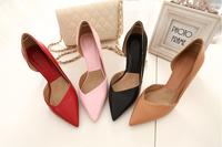 Top sale fashion ladies high heel shoes