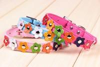 Hot sale 2014 New 2014 new flower decoration dog collar - LX008