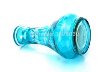 NEW Freeshipping Top brand glass hookah weed tobacco smoking shisha wholesale 2 hose bar hooka pipe