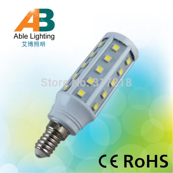 top quality 6.5w brightness 650lm 6000k erp dimmable 220v e14 bulb led corn(China (Mainland))