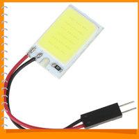 3pcs! 3W 12V COB 18 x SMD Universal LED Car Interior Light Lamp Reading Panel Auto Car LED Dome Light Bulb Spotlights