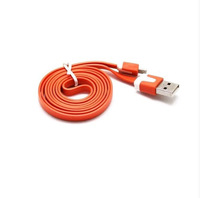 Details about New 1pcs Orange Colors Micro USB Cable for Samsung Galaxy S2 S3 HTC Free ship