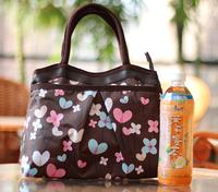 Women's cotton prints bag zipper handbag canvas bag waterproof quinquagenarian tote bag