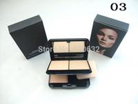 24 pcs/lot mc brand makeup powder plus foundation studio fix +powder puffs 30g / 3 different color free shipping