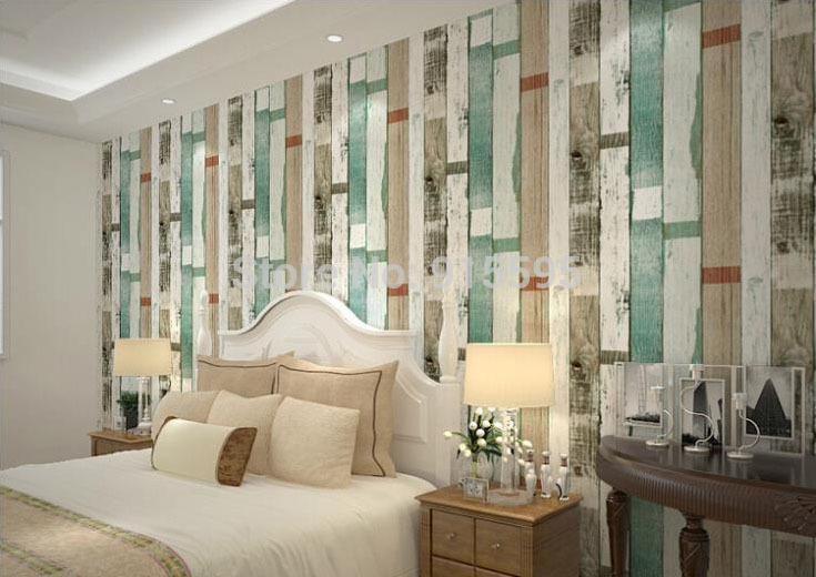 Behang Slaapkamer Hout : behang slaapkamer hout strepen reliëf ...