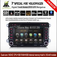 7'' capacitive screen Android 4.2.2 Car Multimedia player for volkswagen magotan yeti golf passat bora superb fabia leon etc