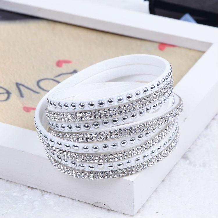 New Unisex Multilayer Leather Bracelet Christmas Gift Charm Bracelets Vintage Jewelry For Women Pulsera 2014(China (Mainland))