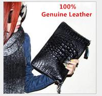 2015 New Arrival High Quality Genuine Leather Crocodile Women Handbag Shoulder Bag Messenger Bag Day Clutch Handbag