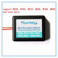 Wholesale 50/pcs Airbag repair tool Seat Occupancy Occupation Sensor SRS Emulator Type 6 for Benz W220,W163,W210,W203,W168,W639