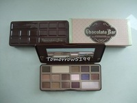 1piece NEW Brand makeup Eye shadow 16 color milk Chocolate BAR to faced Chocolate Bar Eye Shadow palette kit Collection