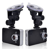 HD 720P Dual Lens Dashboard Car Vehicle Camera Video Recorder DVR G-sensor K6000