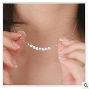 Korean fashion jewelry wild sweet retro trend necklace wholesale women Free Shipping