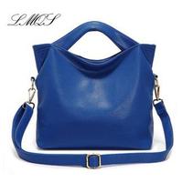 2015 New Designer Women Handbag Genuine Leather Bags Fashion Vintage Shoulder Bags Women Messenger Bag Tote Free Shipping Y20