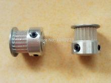 50PCS Aluminum GT2 20T Timing Belt Pulley – RepRap 3D printer Prusa Mendel DHL EMS Fedex Free Shipping
