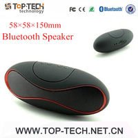 Free Shipping ZH-08 MINI Football Wireless Bluetooth Speaker Portable Audio Player Music Speaker for Iphone Samsung Ipad