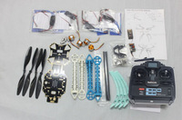 F08151-E JMT S500 RC Drone ARF Upgrade Kit Frame + S500 Landing Gear + QQ SUPER 4 Axis Control Board + Carbon Pros + 7CH TX RX