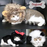 Hat Dog Cap 2015 Newest Cat Wigs Funny Panda Pet Head Cap Change To Pack Faux Fur Hat Dog Cap Pet Dog Apparel Winter Warm Hat