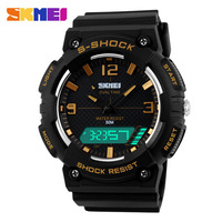 2015 Skmei Watch Men Luxury Brand LED Digital Quartz Men Sports Watches Waterproof Military Fashion Men's Casual Wristwatches